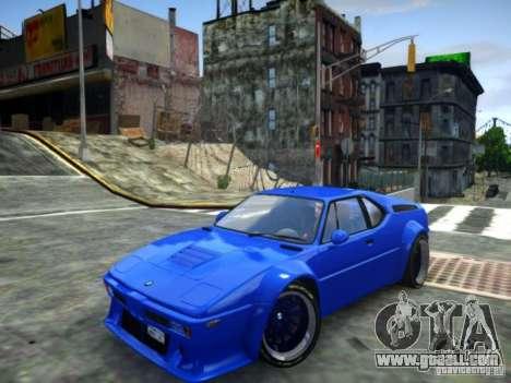 BMW M1 Replica for GTA 4