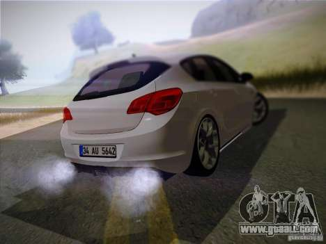 Opel Astra Senner Lower Project for GTA San Andreas back left view