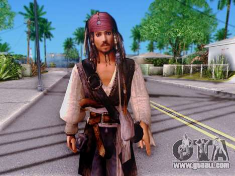 Jack Sparrow for GTA San Andreas