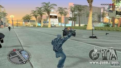Ultra-modern HUD for GTA San Andreas fifth screenshot