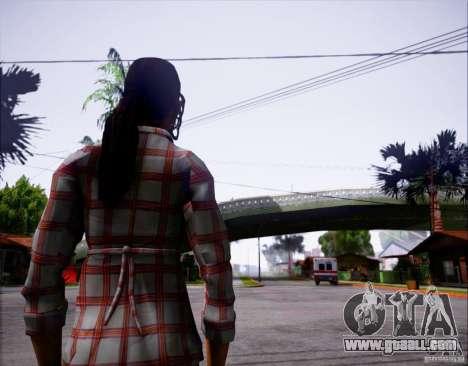 Serena Valdivia for GTA San Andreas second screenshot