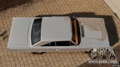 Dodge Coronet 1967 for GTA 4 right view