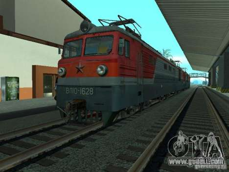 Vl10-1628 RZD for GTA San Andreas