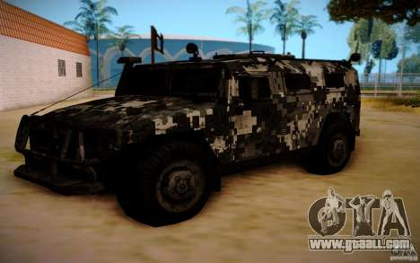 GAS 2725 from BO2 for GTA San Andreas
