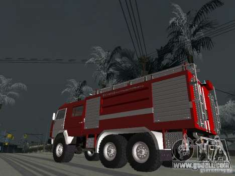 KAMAZ 43118 AC-7 for GTA San Andreas left view