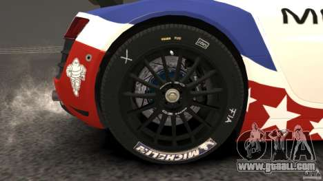 Audi R8 LMS for GTA 4 side view