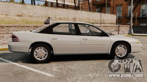 Dodge Intrepid 1993 Civil for GTA 4 left view