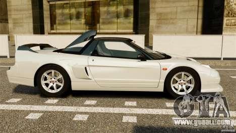 Honda NSX-R GT for GTA 4 left view