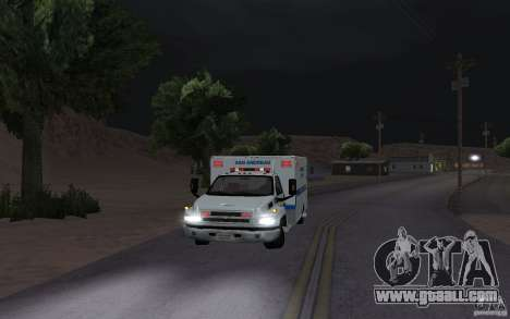 Chevrolet C4500 Ambulance for GTA San Andreas left view