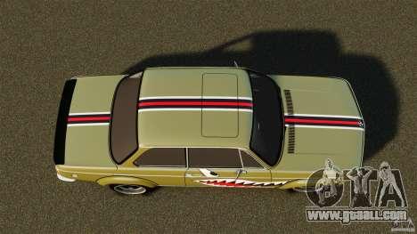 BMW 2002 Turbo 1973 for GTA 4
