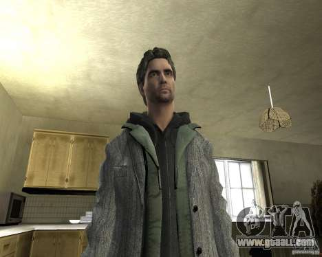 Alan Wake for GTA San Andreas fifth screenshot