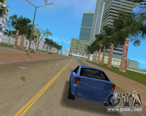 Toyota Celica 2JZ-GTE Black Revel for GTA Vice City