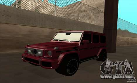 Mercedes Benz G65 AMG for GTA San Andreas