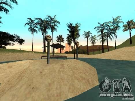 Volcano for GTA San Andreas second screenshot