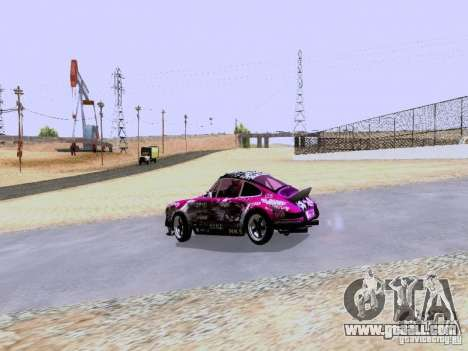 Porsche 911 Pink Power for GTA San Andreas right view