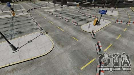 Drift-track at the airport for GTA 4