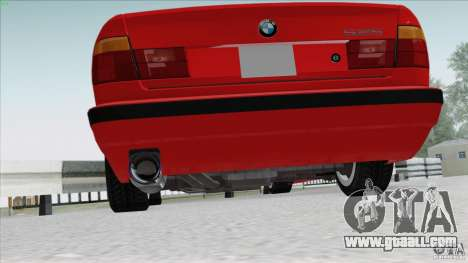 BMW 525i E34 for GTA San Andreas right view