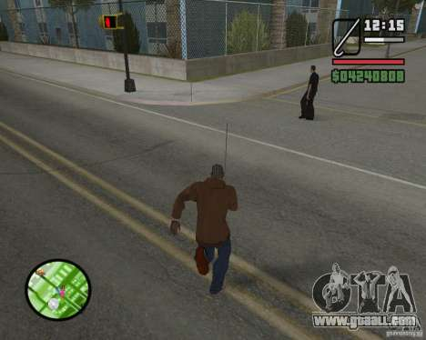 New HUD for GTA San Andreas fifth screenshot