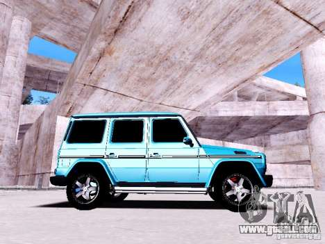 Mercedes-Benz G65 2012 for GTA San Andreas left view