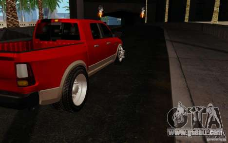 Dodge Ram 3500 Tuning for GTA San Andreas right view