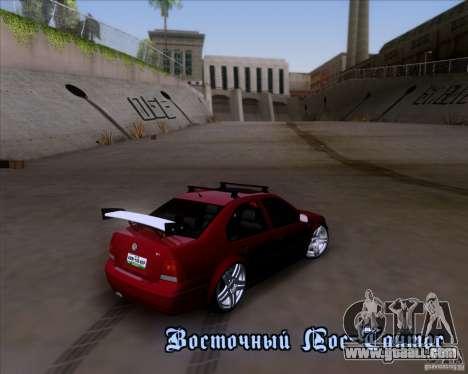 Volkswagen Jetta 2005 for GTA San Andreas upper view