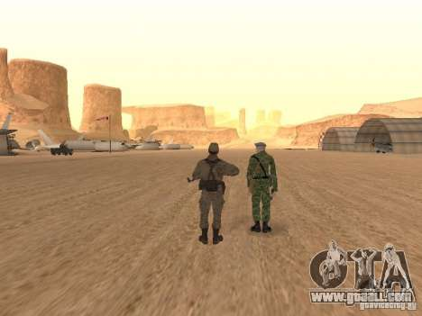 A Soviet Soldier Skin for GTA San Andreas fifth screenshot