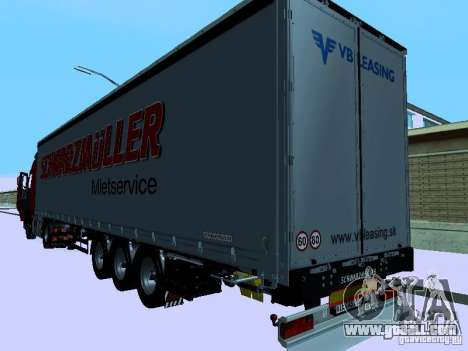 Volvo FH13 for GTA San Andreas upper view