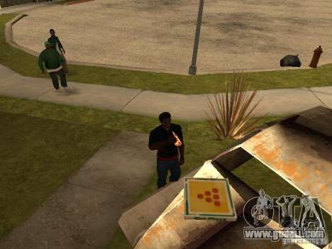 Hungry CJ v. 3 final for GTA San Andreas second screenshot