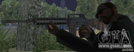 M16A4 from BF3 for GTA San Andreas third screenshot