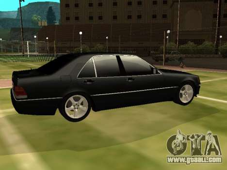 Mercedes-Benz S400 SE W140 for GTA San Andreas left view