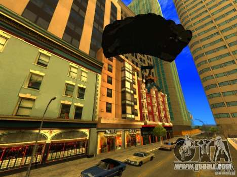 Global Parachute Mod for GTA San Andreas forth screenshot