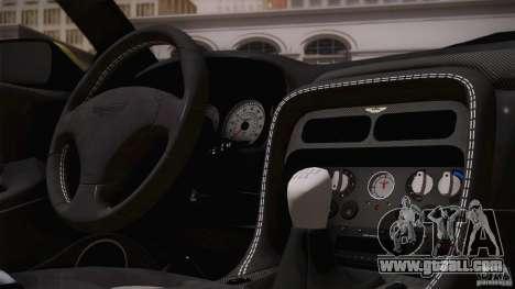 Aston Martin DB7 Zagato 2003 for GTA San Andreas wheels
