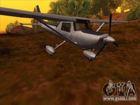 Cessna 152 v.2 for GTA San Andreas left view
