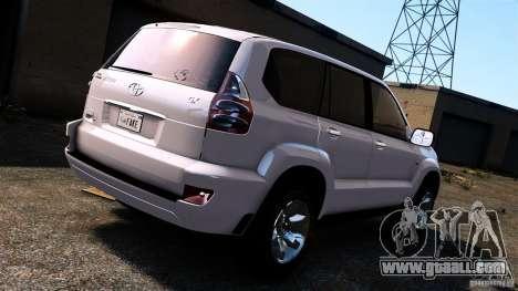 Toyota Land Cruiser Prado for GTA 4 right view
