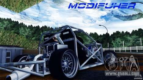Mazda MX-5 Tube Frame for GTA San Andreas right view