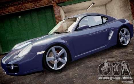 Porsche Cayman S 2006 EPM for GTA 4 left view