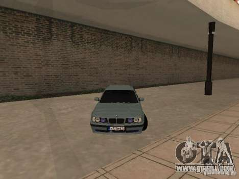 BMW E34 540i V8 for GTA San Andreas