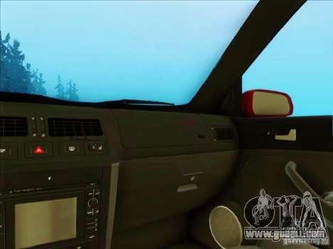 Volkswagen Bora HellaFlush for GTA San Andreas right view