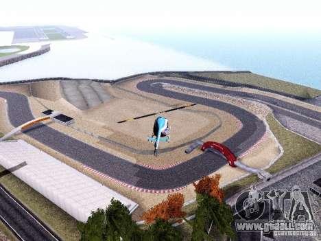 Laguna Seca Raceway for GTA San Andreas