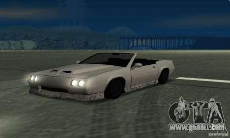 Buffalo Cabrio for GTA San Andreas