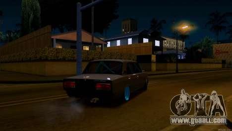 Vaz 2107 Combat Classics for GTA San Andreas