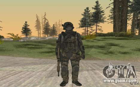 Seals soldier from BO2 for GTA San Andreas second screenshot
