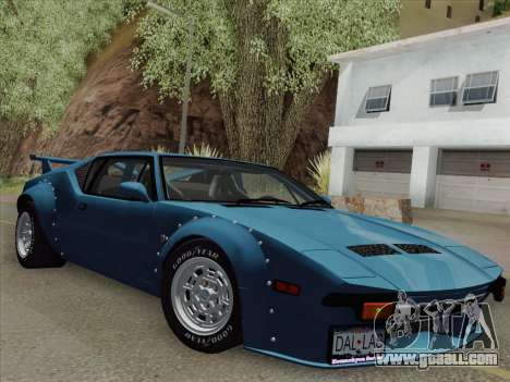 De Tomaso Pantera GT4 for GTA San Andreas back left view