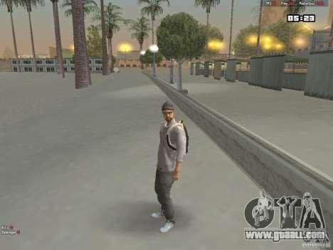 Skin Hipster v1.0 for GTA San Andreas second screenshot