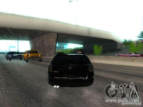 Volkswagen Passat B6 Variant Com Bentley 20 Fixa for GTA San Andreas right view