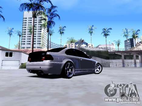 BMW 318i E46 Drift Style for GTA San Andreas right view