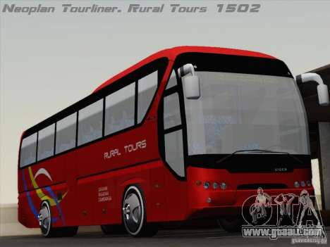 Neoplan Tourliner. Rural Tours 1502 for GTA San Andreas