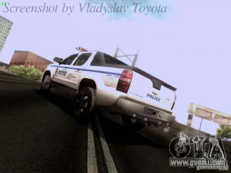 Chevrolet Avalanche 2007 for GTA San Andreas left view