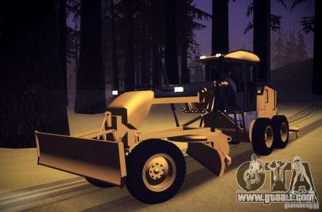 Caterpillar 140AWD Motorgrader for GTA San Andreas