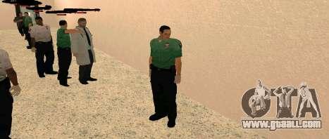 Medic Pack for GTA San Andreas third screenshot
